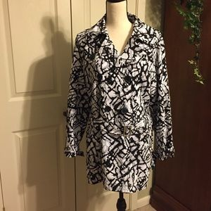 Zenergy by Chico's trench coat. Size 2 (12)